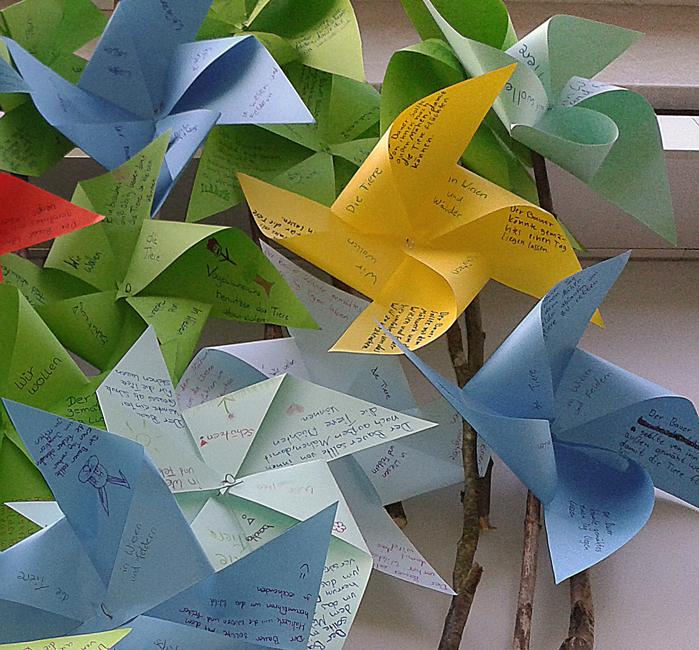 Windräder mit Ideen