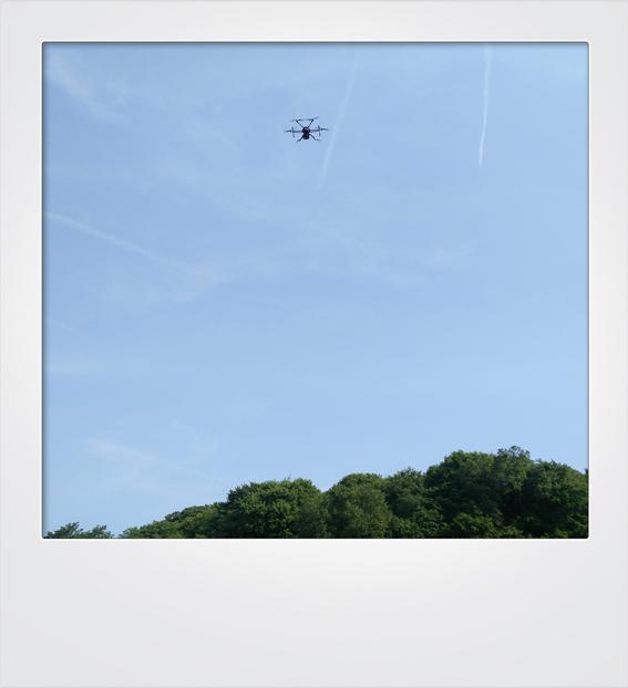Drohne Frame
