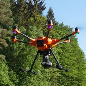 Ticker-Drohnenbild